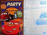 Lizenzartikel Cars McQueen 5 Party Karten mit Umschlägen Karte Einladungskarte Deko GAC C86