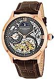 Stührling Original 571.3345K54 - Reloj automático para hombre, correa de...