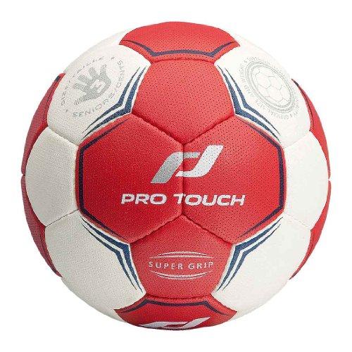 PRO TOUCH Handball Super Grip WEIß/ROT/BLAU