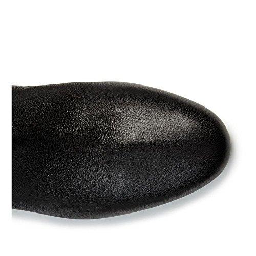 Bottes Lanvin en cuir noir avec talons cachés - Code modèle: FWCSFBH5HOSAA15 Noir