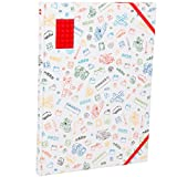Lego 90318 - Skizzenbuch A4, blanko, rot
