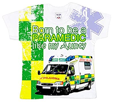 Dirty Fingers, Born to be a Paramedic like my Aunty, Baby Girl T-shirt