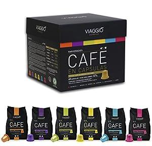 Order VIAGGIO ESPRESSO - Nespresso machine compatible coffee capsules - PACK PREMIUM by Balnes Europe SL