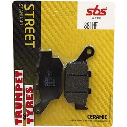 Honda Nc 750 D Integra 14 15 16 17 18 19 SBS Performance Heck Keramik Bremsscheiben Satz Qualität Original OE 881HF - Nc-keramik