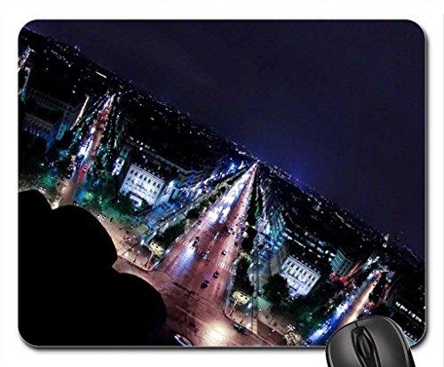vision-de-nuit-tapis-de-souris-paris-moderne-tapis-de-souris-mouse-pad