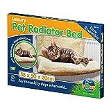 CAT RADIATOR BED WARM PET BEDS FLEECE BASKET PUPPY CRADLE ANIMAL HAMMOCK PUP DOG