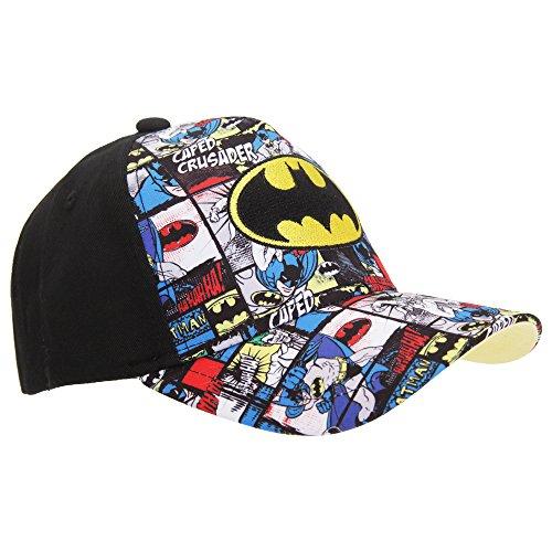 Batman - Casquette officielle style BD - Garçon Noir