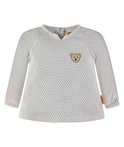 Steiff Collection Mädchen T-Shirt 1/1 Arm 6832833, Blau (Marine 3032), 50 (Marine-blau-mädchen T-shirt)