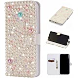 Samsung Galaxy S9 Plus Leather Wallet Case With Leather Cases, Danallc Samsung Galaxy S9 Plus Flip Cover, Leather Cases, Cover Case (Type 6)
