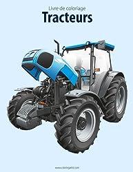 Livre de coloriage Tracteurs 1