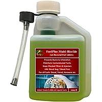 Hydra Fuelplus - Aditivo para tratamiento de combustible, para bicida marina, barco y banderín
