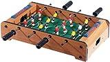 Playtastic Tischfussball: Mini-Tischkicker in massiver Holz-Qualität (Kicker)