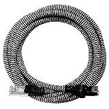[i!®] 2m Premium Nylon Design Cat6 - Cat.6 Gigabit Ethernet LAN Netzwerkkabel | Internetkabel | DSL Kabel | Patchkabel | RJ45 Stecker | 10/100/1000Mbit/s | kompatibel mit Cat5 und Cat7 | weiß