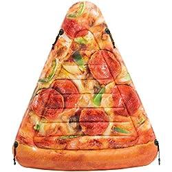 Colchoneta hinchable Pizza 145 x 175 cm