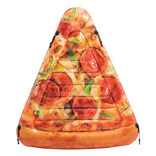 Intex - materassino pizza - stampa realistica, 175 x 145 cm, 58752