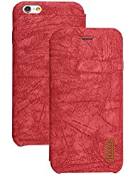 Best New Apple iphone 7 plus Case cover, Apple iPhone 7 plus Red Designer Style Wallet Case Cover