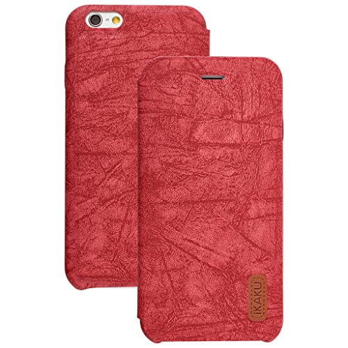 Price comparison product image Unique Apple iphone 7 plus Case cover,  Apple iPhone 7 plus Red Designer Style Wallet Case Cover