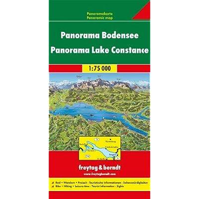 Lago Di Costanza Pan. 1:75.0000: Panorama Kaart 1:75 000