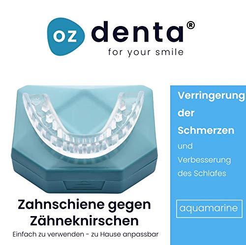 NEU! Professional Aufbissschiene (2 Stk) inkl. 1 Aufbewahrungsbox, BPA frei, Zahnschutz beim nächtlichen Zähneknirschen, Knirscherschiene, Zahnschiene, Mouthguard - 100% ige Zufriedenheitsgarantie