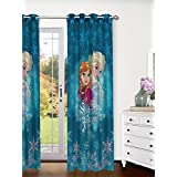 Disney- Athom Trendz- Frozen- Kids Curtain- Single Piece (Door)