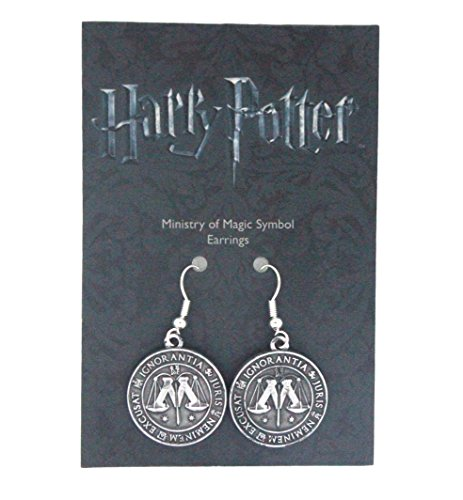 harry-potter-pendientes-ministry-of-magic-plateado