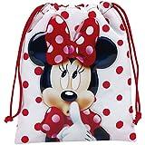 Minnie Mouse Neceser, 25 cm, Rojo y Blanco