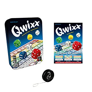 Lot de jeux Qwixx + 3 blocs Qwixx + 1 Yoyo Blumie