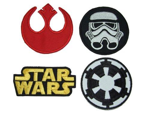 Star Wars-Parches diseño logo clásico emblemas