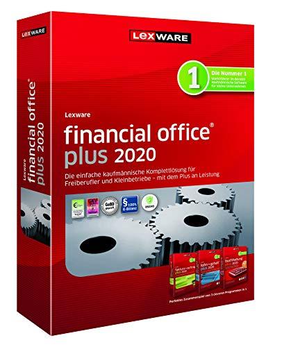 Lexware financial office 2020|plus-Version Minibox (Jahreslizenz)|Einfache kaufmännische Komplett-Lösung für Freiberufler, Selbständige und Kleinunternehmen|Kompatibel mit Windows 7 oder aktueller