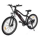 Ancheer Elektrofahrrad E-Bike Mountainbike Pedelec mit Shimano Getriebe
