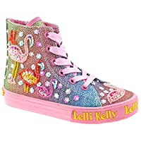 Lelli Kelly Shining Flamingo Rainbow Lace-up Boot
