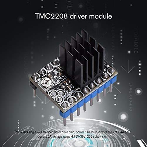 fghdfdhfdgjhh Fit TMC2208 Schrittmotor StepStick Mute Driver Geräuschlos Ausgezeichnete Rampen 1.4 1.5 1.6 Reprap Board 3D-Druckerzubehör