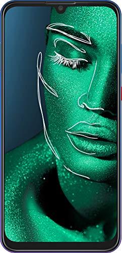 ZTE Smartphone Blade V10 (16 cm (6,3 Zoll) FHD+ Display, 64 GB interner Speicher, 32 MP AI-Selfie- und 16+5 MP Dual-Hauptkamera, Dual-SIM, Android 9) Gradual Blau