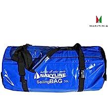 Wasserdichte Reisetasche, Navyline, Sailing Bag, 50 Liter