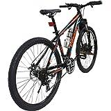 Cosmic Trium Premium Edition 27T 21-Speed MTB Bicycle (Black/Blue)