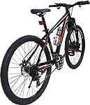 Bike Type : Hard Trail. Frame : Alloy. Front Suspension : Zoom. Shifter : Shimano EF51. --Front Derailleur : Shimano TTY10. Rear Derailleur : Shimano TZ50. Chain Wheel Crank : Alloy. --Freewheel : Shimano TZ21. BB Set : Sealed. Pedals : Half Alloy. R...