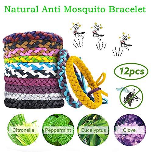 Imagen de ya uzeun  pulsera repelente de mosquitos, antimosquitos, antimosquitos, 12 unidades alternativa