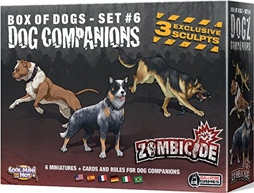 Cool Mini or Not 901565 - Zombicide - Dog Companions, ()