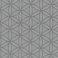 No papel pintado P + S vivo 13263-30 1326330 gráfica de Flores Gris claro plateado