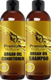 Premium Nature Argan Oil Shampoo 8oz & Argan Oil Conditioner 8 Oz Combo