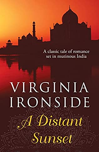 book cover of A Distant Sunset