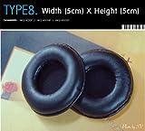Kopfhörer Ohrkissen, Ohrpolster Ersatz für Kopfhörer, Kompatibel mit AKG-K26P, AKG-K414P, AKG-K416P (Packaged 1 Paar (2 Stück)) Type 8