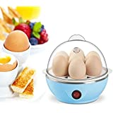 Piyuda Eggs Device Multifunction Poach Boil Electric Egg Cooker Boiler Steamer Automatic Safe Power