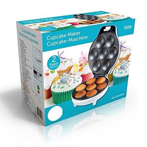 Macchina elettrica Sforna Cupcake / dolci /muffin / waffle fino a 7 posti, 700W di potenza