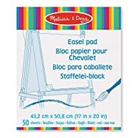 Melissa & Doug Art Essentials Easel Pad With 50 Sheets of White Bond Paper