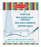 Melissa & Doug Art Essentials Easel Pad (17 x 20 inches) With 50 Sheets of White Bond Paper