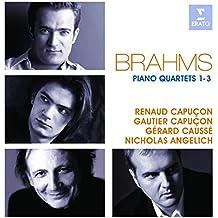 Brahms : Quatuors pour piano et cordes n°1, 2 et 3