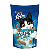 Purina Felix Party Mix Seafood Cat Treats 60g(Pack of 1)