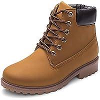 Beladla Zapatos De Mujer Estilo BritáNico Botas Martin Zapatos De OtoñO E Invierno Botines Zapatos De Invierno Tacones TacóN Zapatillas Interiores