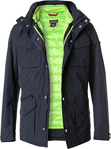 Preisvergleich Produktbild Victorinox Herren Jacke Jack modisches Langarmoberteil Uni & Uninah, Größe: M, Farbe: Blau